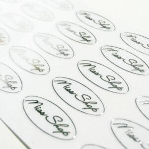 Transparent Lens Sticker