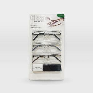 Reading Glasses 3pcs Blister Card