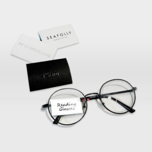 Reading Glasses Pillow Tag
