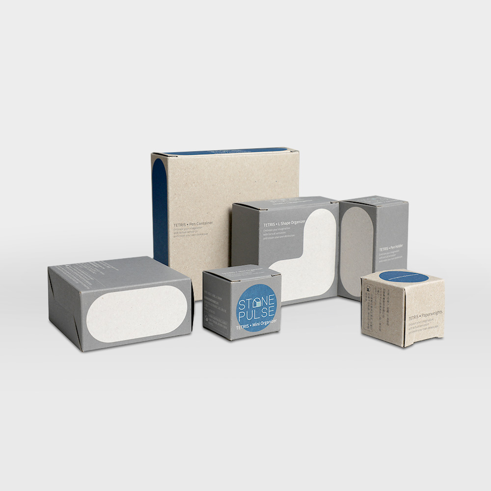 Stationery Packaging - STONE PULSE