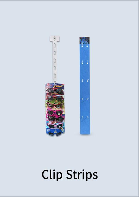 packaging-display-clip strip