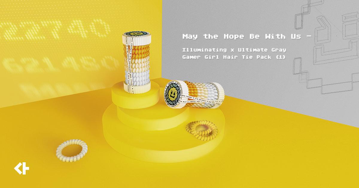 News-Gamer Girl Hair Tie Pack