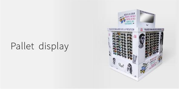 Display Landing page-Pallet display-mobile