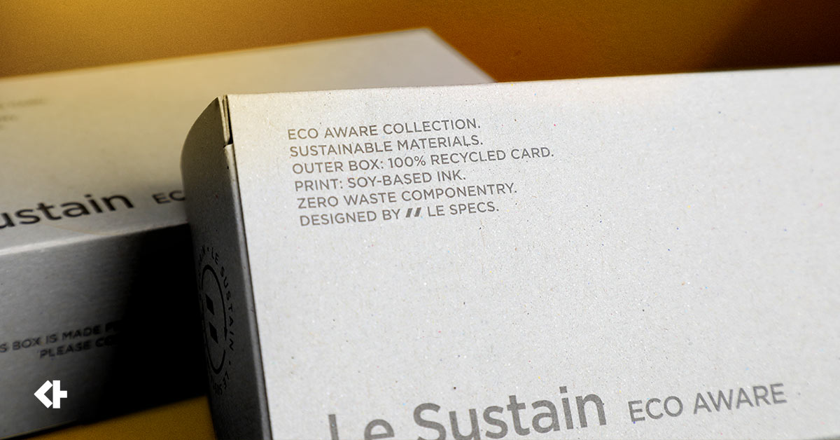 Le-Sustain-Recycled-paper-sunglasses-box
