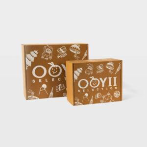 Custom print mailer box